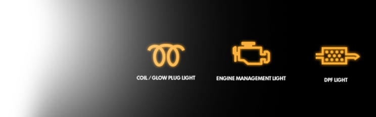DPF EGR WARNING DASH LIGHT